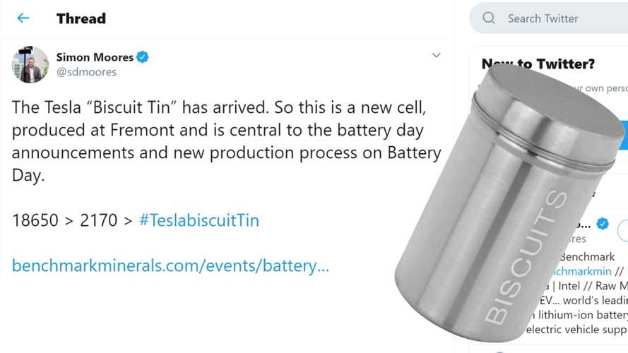 'Biscuit Tin' Battery May Be Tesla Battery Day's Main Attraction