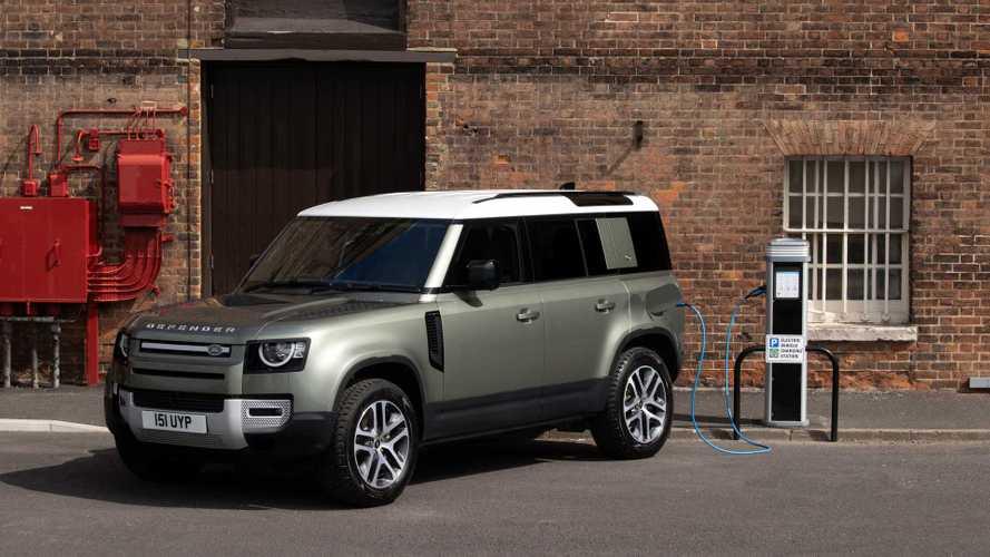 Land Rover Defender Gains PHEV Powertrains, 27-Mile Electric Range