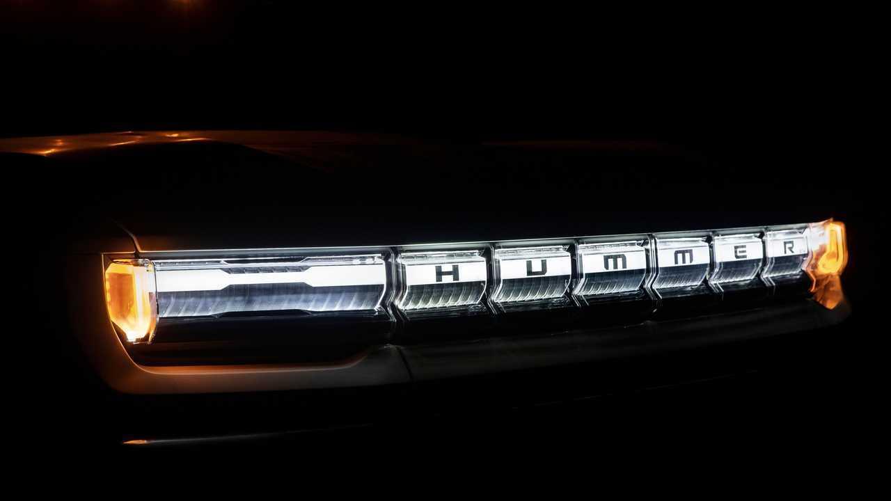 2022 GMC Hummer EV Grille