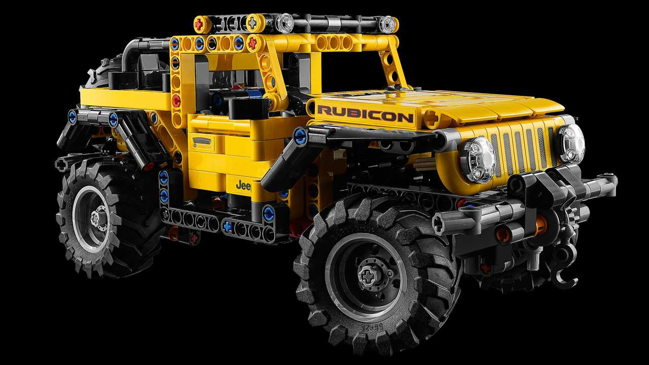 Lego Technic Jeep Wrangler Rubicon Lead