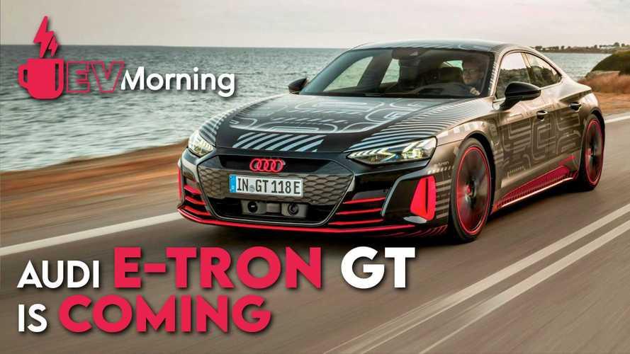 EV Morning Episode 2: Audi e-tron GT, Porsche Taycan Cross Turismo And More