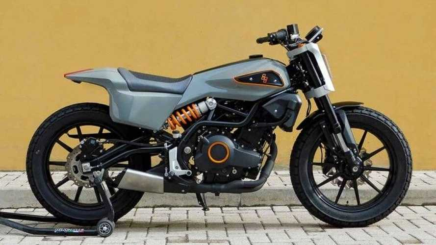 A Benelli 302 Becomes The Harley XR338 Street Tracker Concept