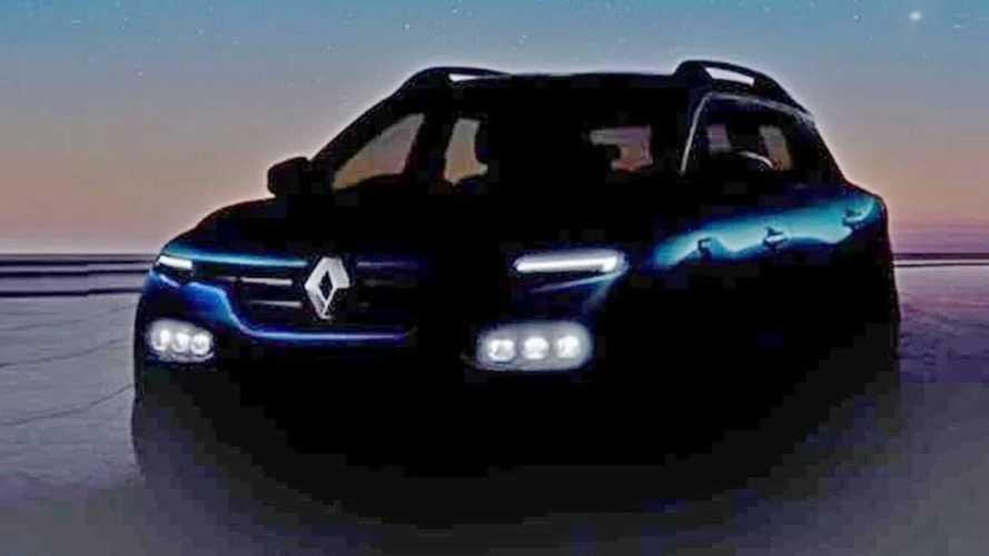 Renault Kiger: SUV do Kwid começa a se mostrar para a estreia