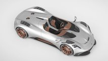 Ares Design S1 Project Spyder: Dachloses Supercar mit über 700 PS