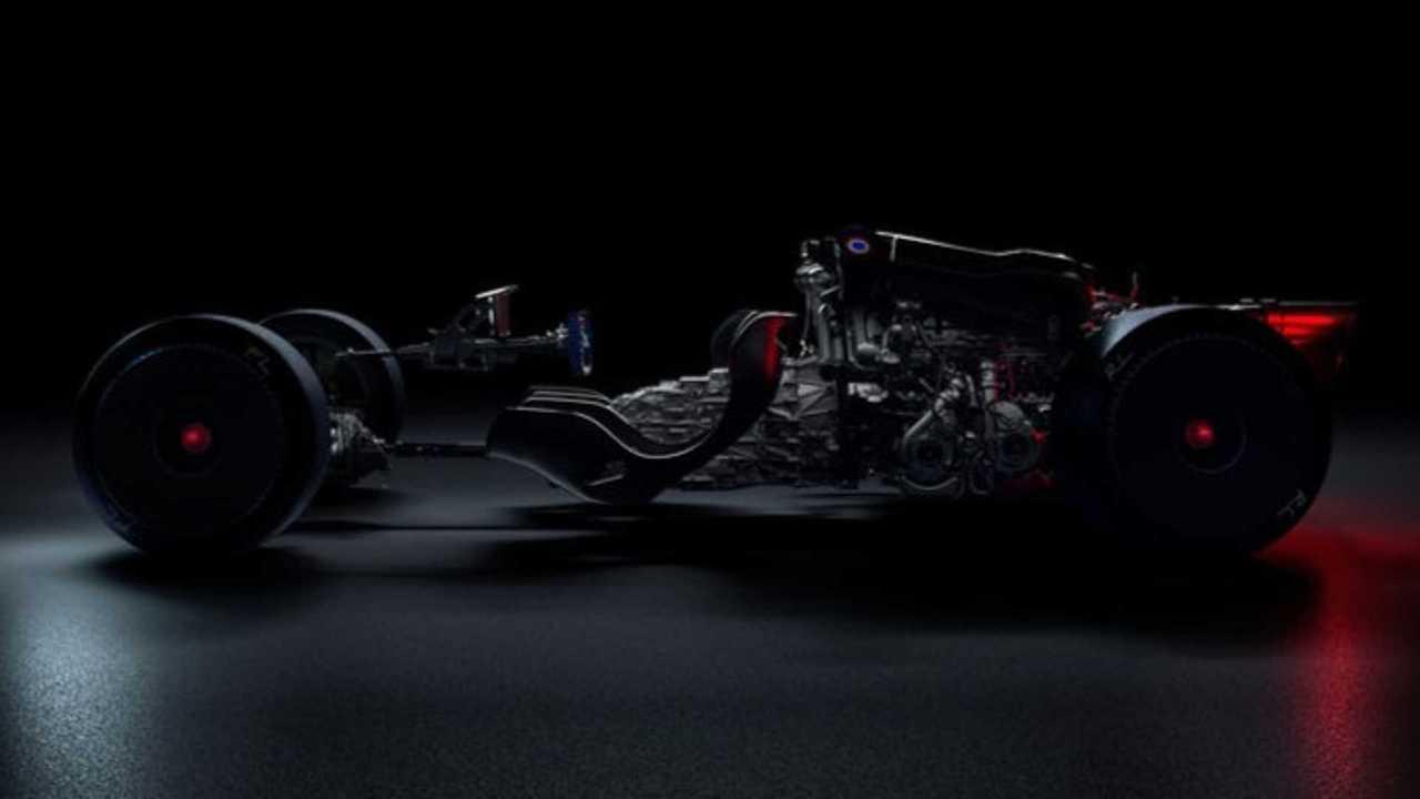 Weird Bugatti Teaser