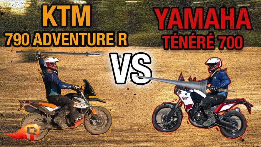 KTM 790 Adventure R Or Yamaha Ténéré 700: Which Is Better?