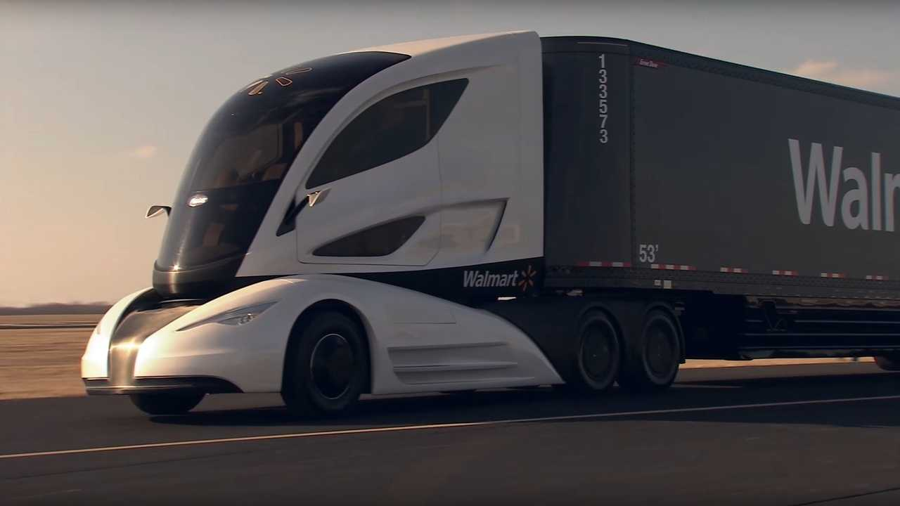 Walmart Advanced Vehicle Experience Concept Truck