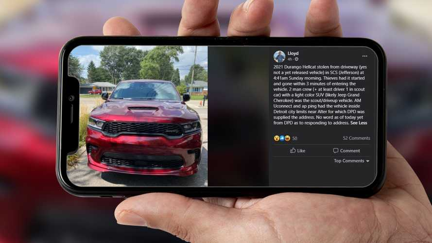Pre-Production Dodge Durango SRT Hellcat Stolen Out Of Driveway