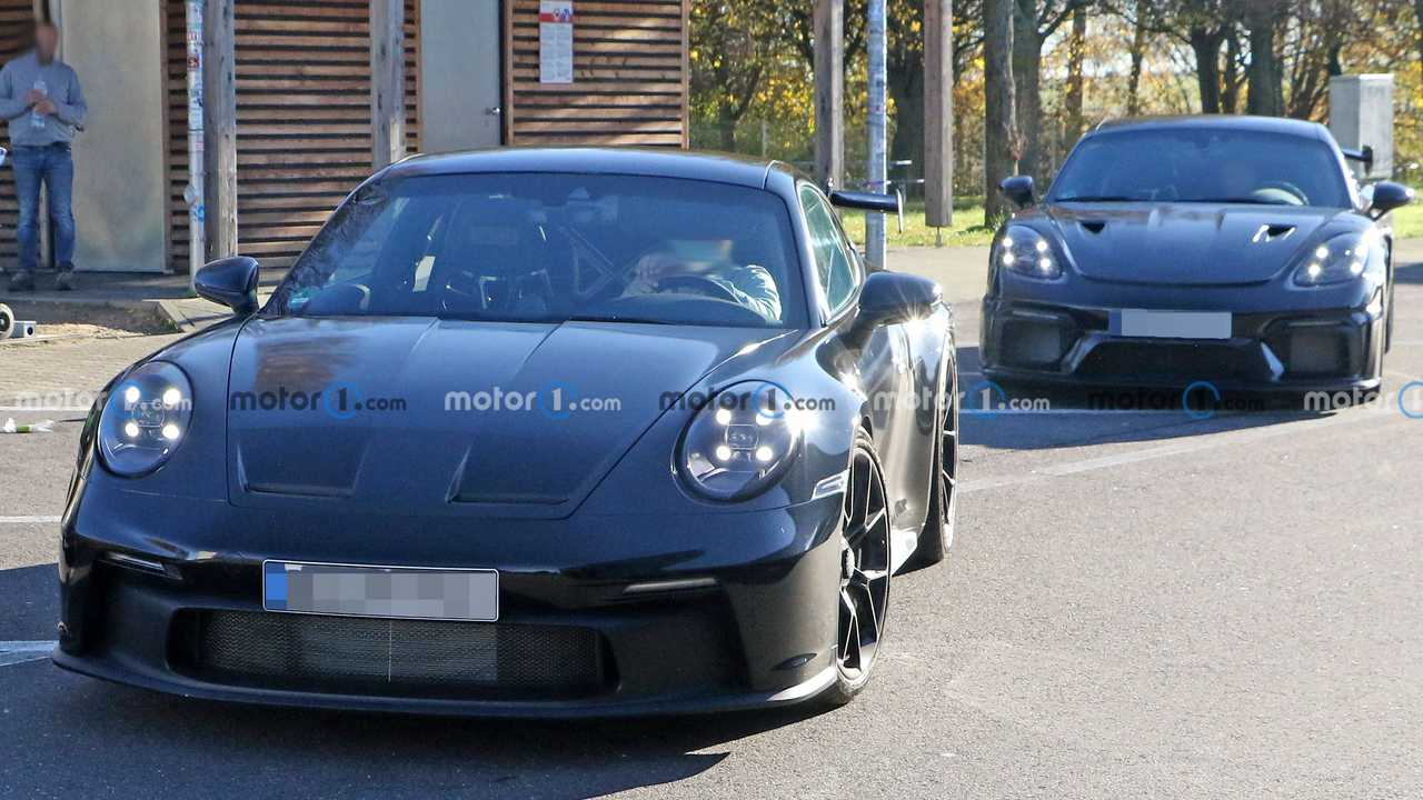 2021 Porsche 911 GT3 Front Spy Photo