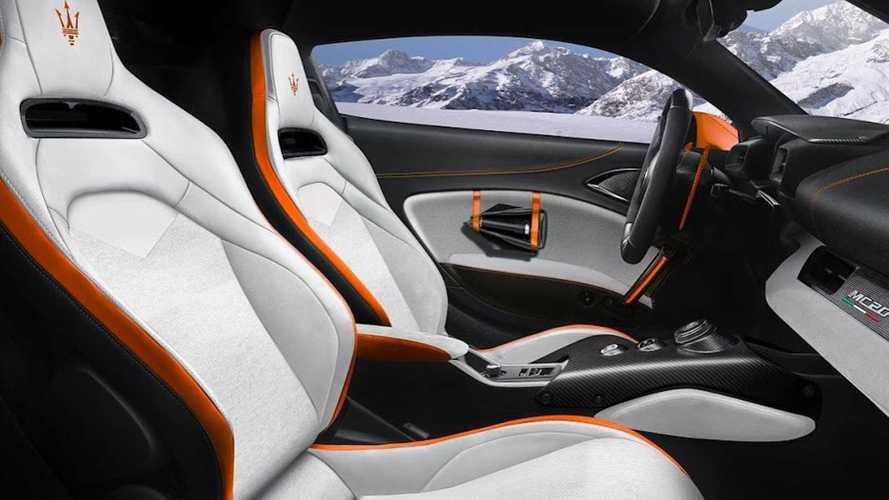 Maserati MC20 Garage Italia Concept pour le ski