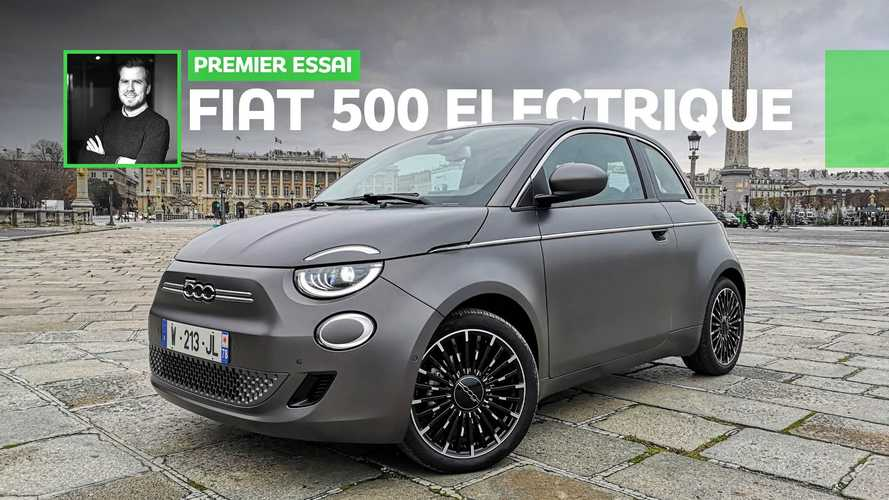 Essai Fiat 500 électrique - Tellement évident