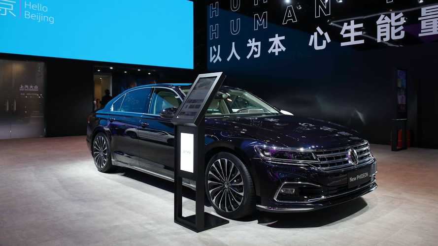 2021 VW Phideon Facelift Debuts In China As Spiritual Phaeton Successor