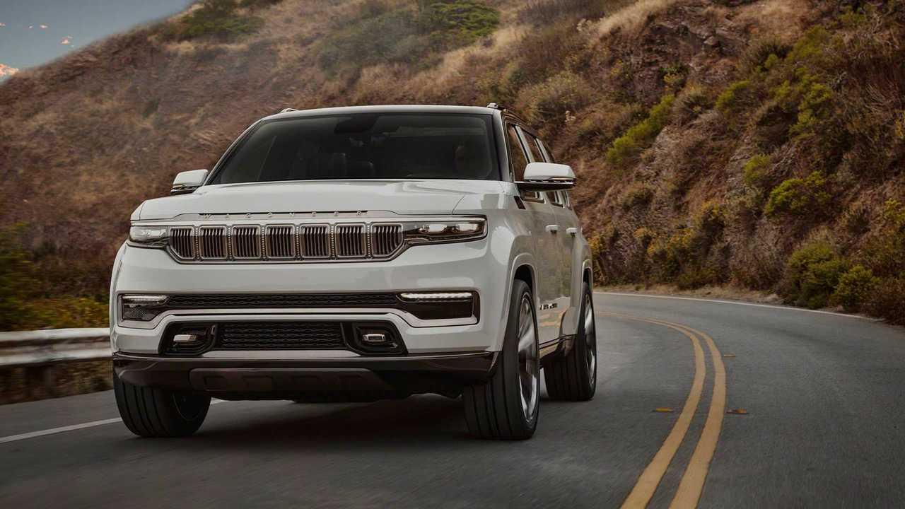 Jeep Grand Wagoneer Concept (2020), вид спереди