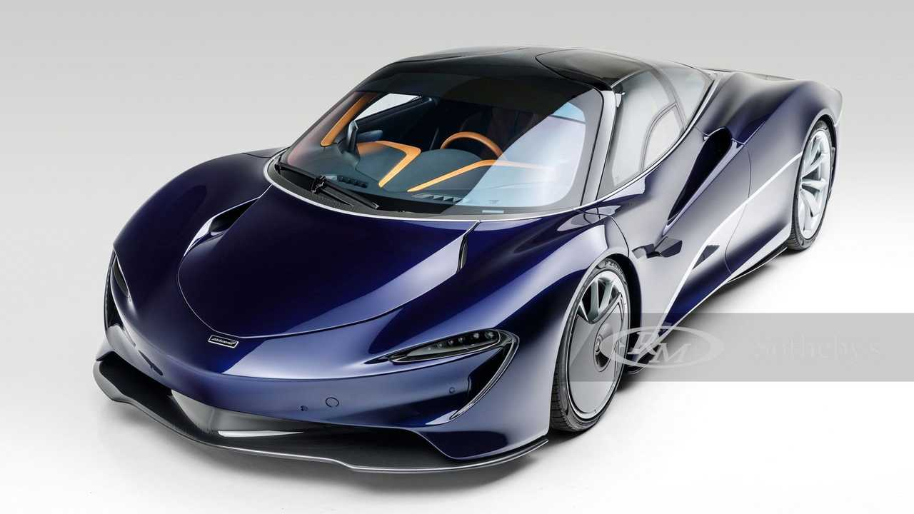 McLaren Speedtail выставили на аукцион