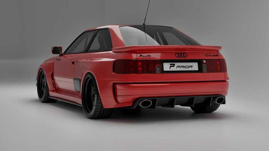 Prior Design imzalı Audi RS2 Coupe nefes kesici görünüyor