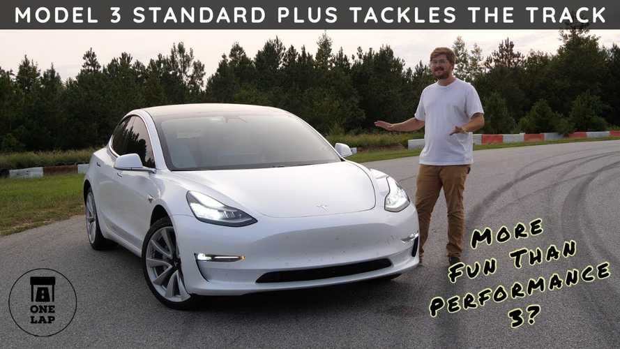 Cheapest Tesla Proves Its No Slouch In One Lap