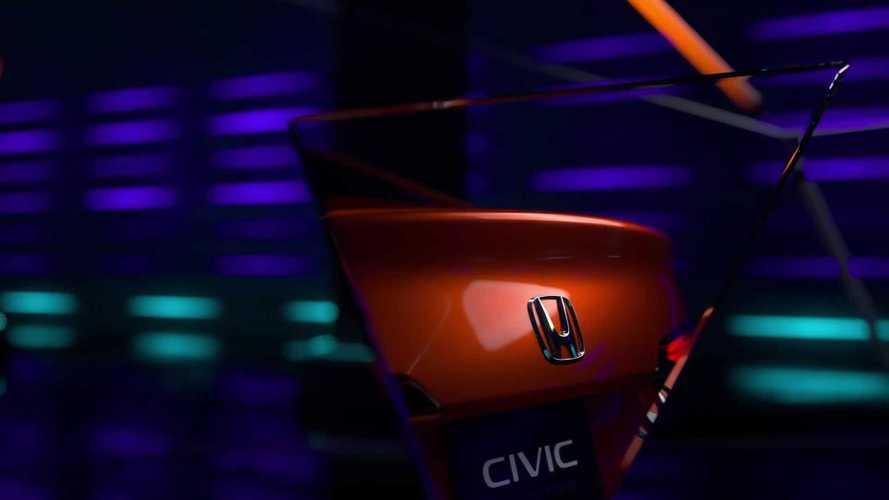 2022 Honda Civic Sedan prototype teasers