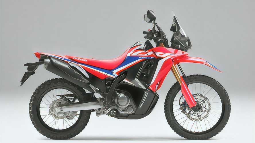 2021 Honda CRF250L And CRF250L Rally Get Rider-Focused Updates