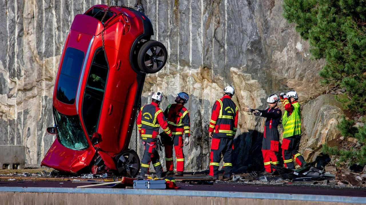 Volvos Kran-Aktion