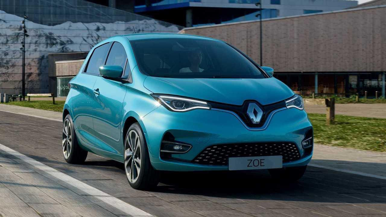 Green-NCAP-Umwelttest: Am besten von den 24 untersuchten Autos schnitt der elektrisch angetriebene Renault Zoe ab.