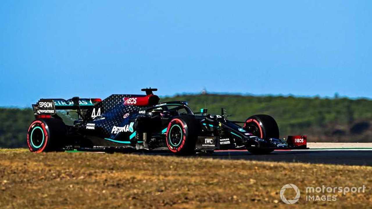 Lewis Hamilton at Portuguese GP 2020