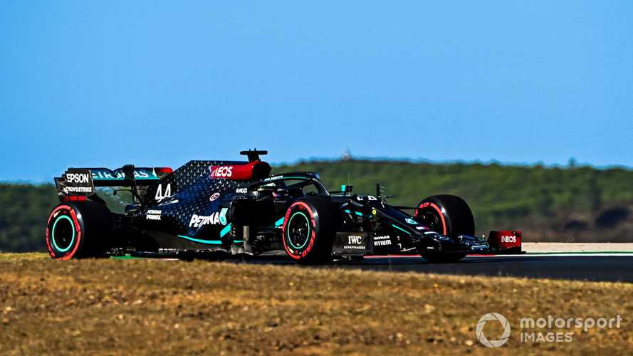 Portuguese GP: Hamilton beats Bottas to pole by 0.1s