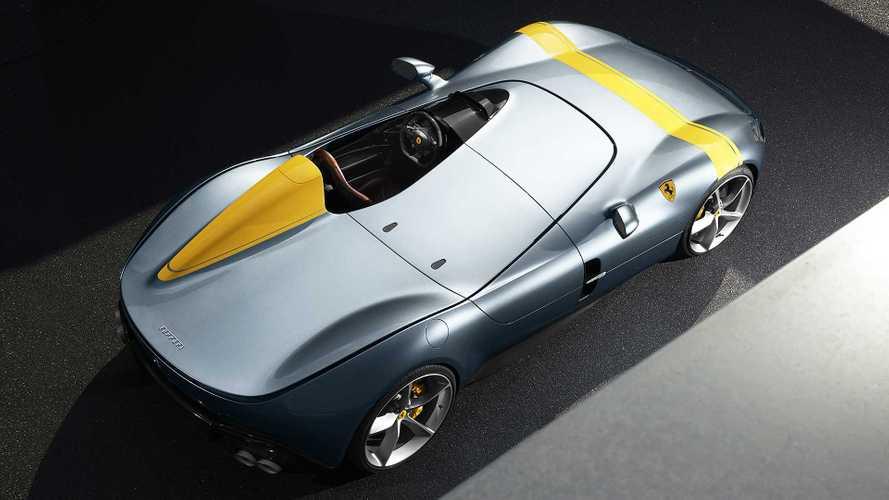 Compasso d'Oro per la Ferrari Monza SP1, capolavoro di design