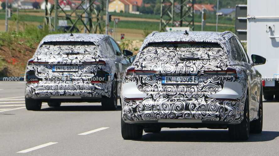 2021 Audi Q4 e-tron başka bir prototiple beraber testte