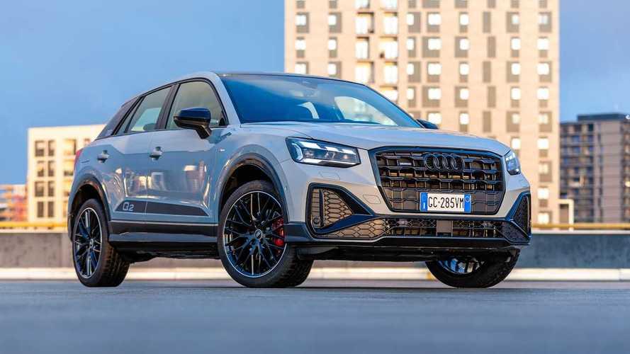 Audi Q2 restyling (2020), la prova