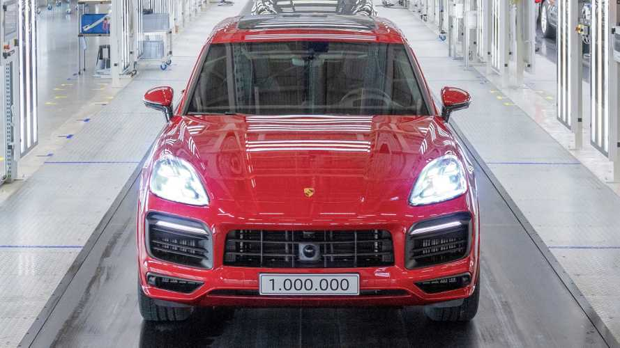 La Porsche Cayenne raggiunge il milione di unità prodotte