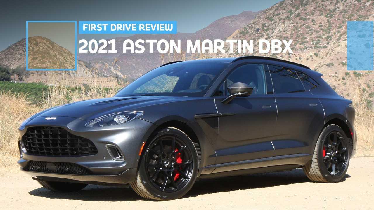 2021 Aston Martin DBX First Drive