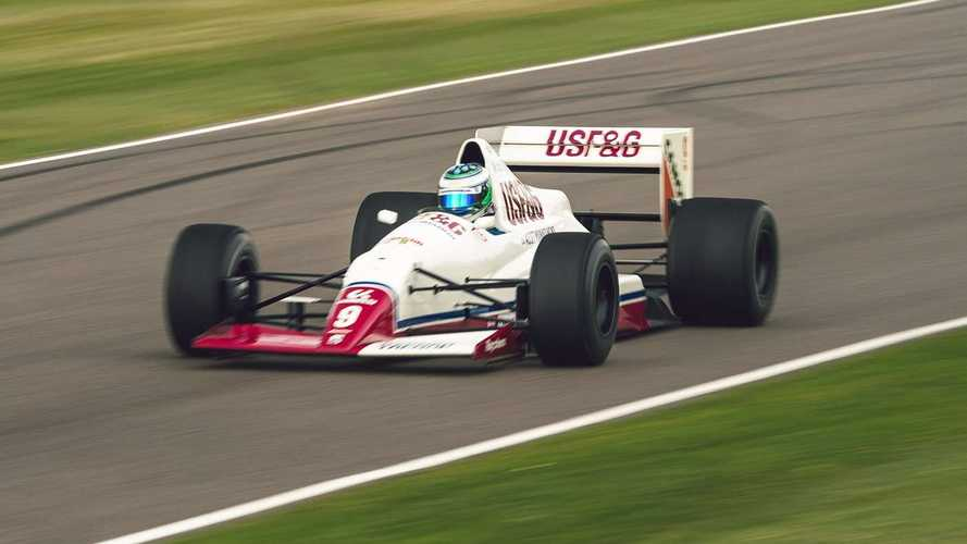 Disfruta de este Arrows F1 batiendo el récord del circuito de Goodwood