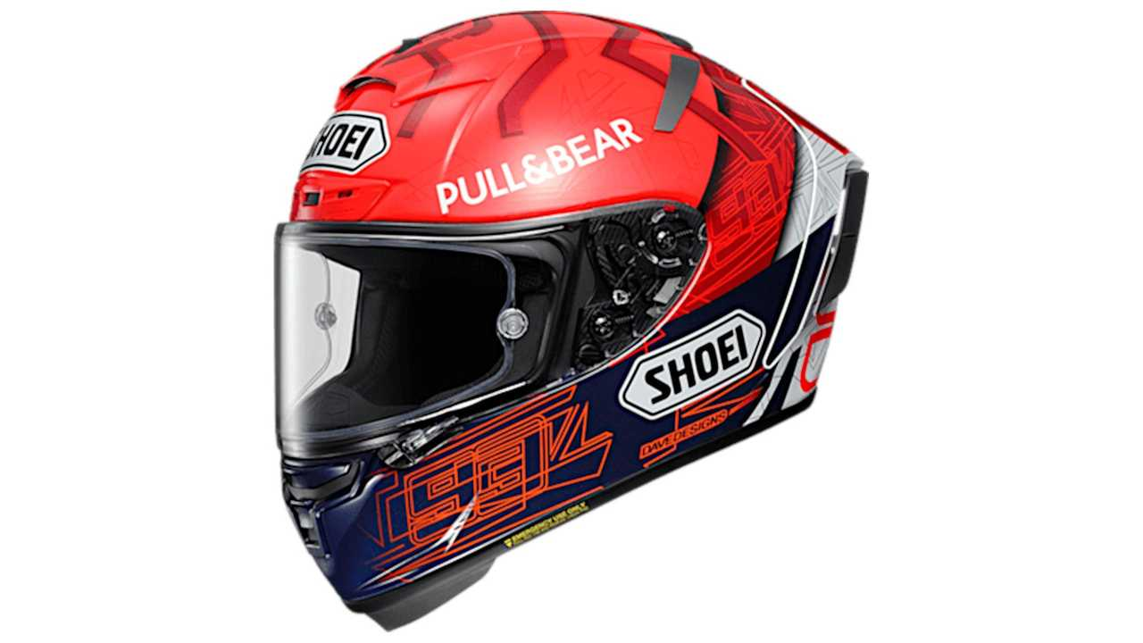 Shoei X-Fourteen Marquez 6 - Side View