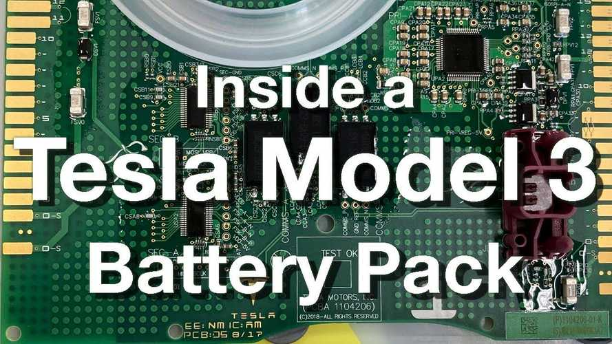 UPDATE: Let's Look Inside A Tesla Model 3 Battery With Gruber Motors