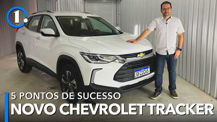 Novo Chevrolet Tracker: 5 pontos que explicam o sucesso da nova geração