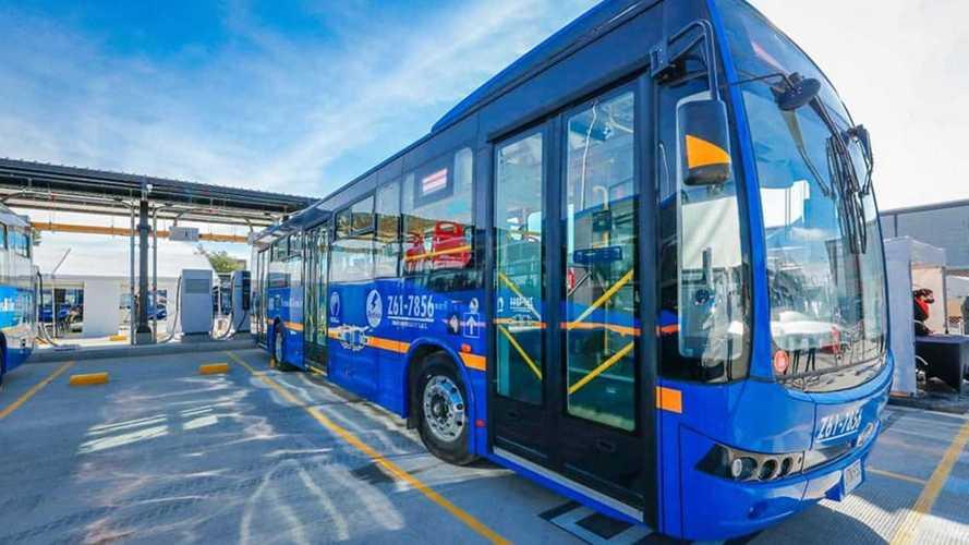 Bogotá passa a ter a maior frota de ônibus 100% elétricos do mundo fora da China