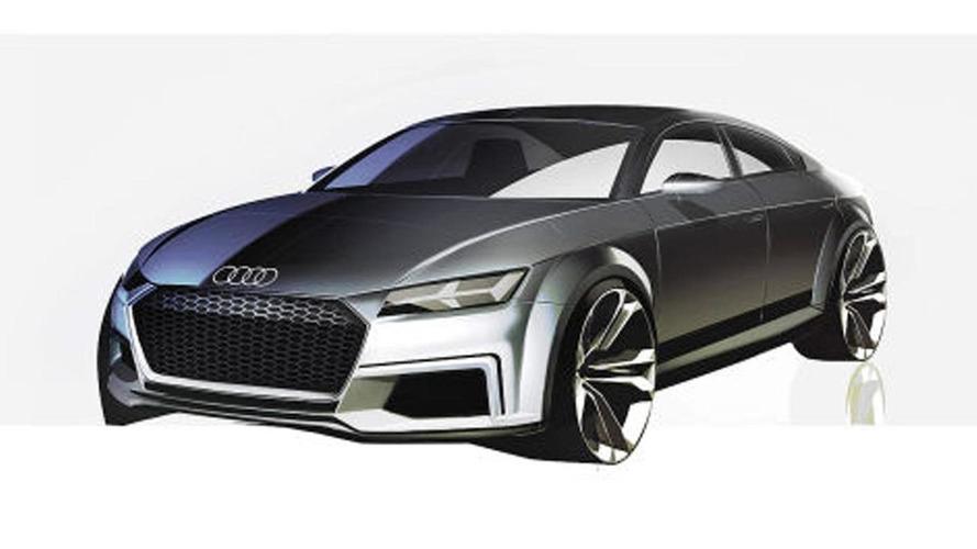 Audi TT Sportback four-door concept leaked