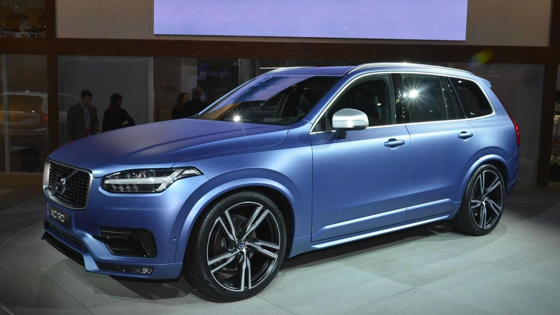 Volvo Xc90 R Design >> Volvo Xc90 R Design Shows Its Sportier Side At Naias