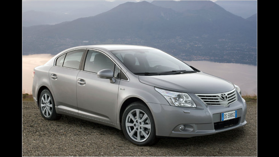 Vierjahres-Mobilitätspaket ,Toyota komplett