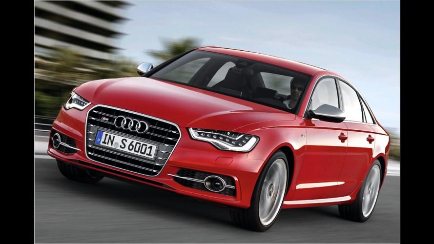 Neue Sportmodelle: Premiere für Audi S6, S7 und S8