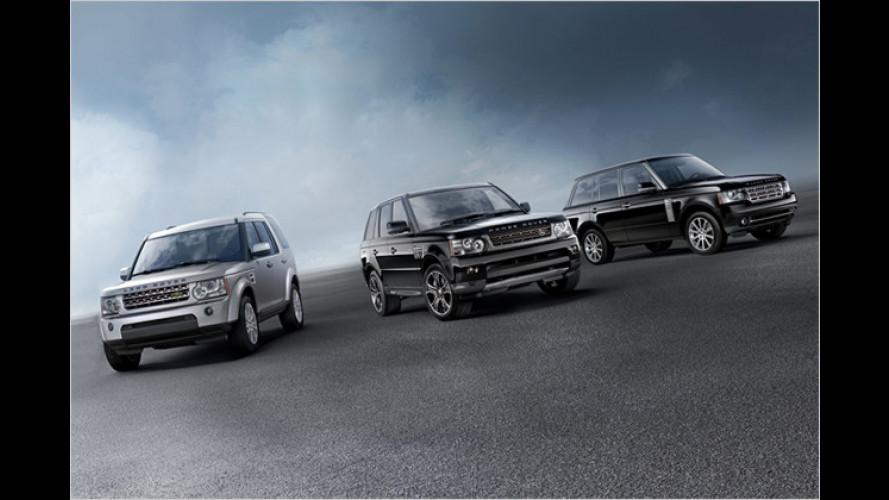 Facelift für Range Rover, Range Rover Sport und Discovery