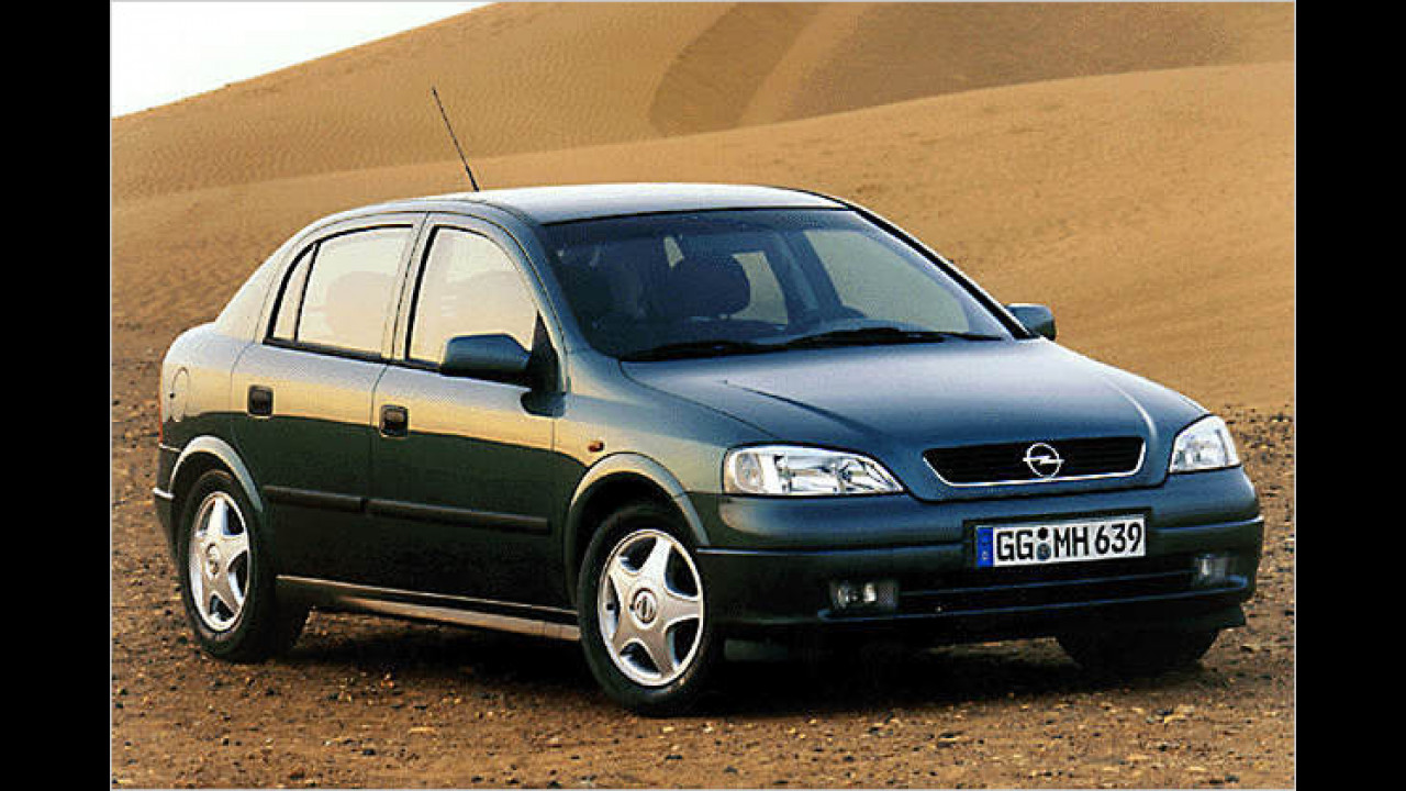 Platz 3: Opel Astra (7,0 Prozent)