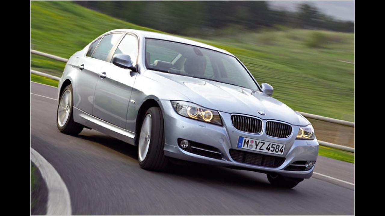 Platz 2 Premium-Mittelklasse: BMW 3er