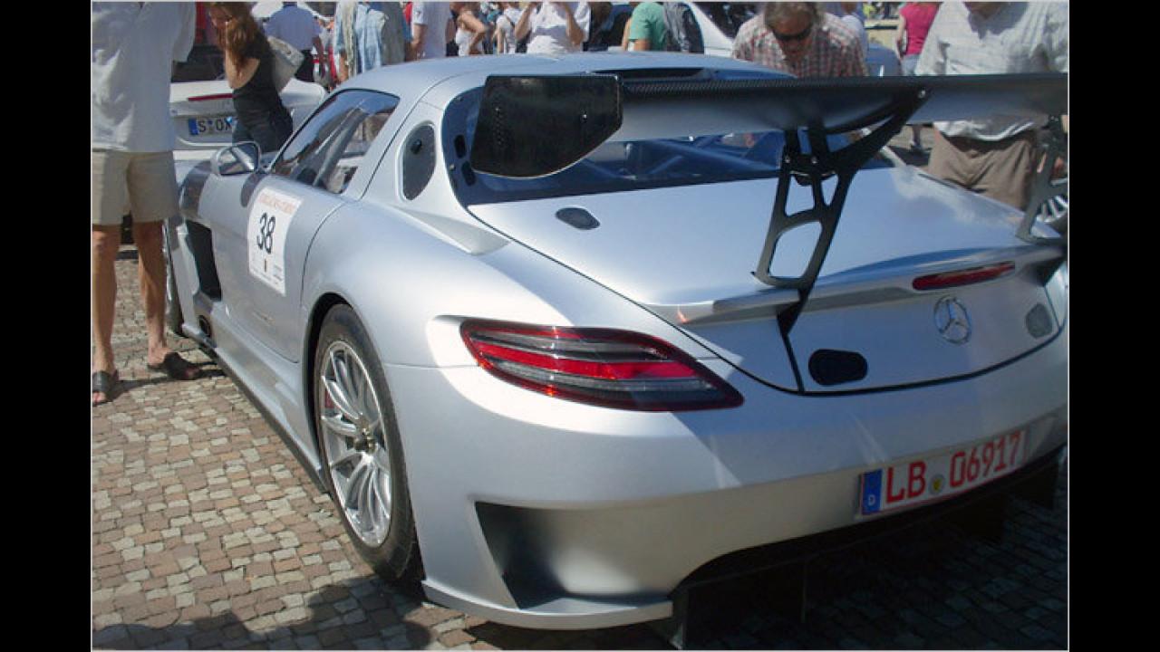 Mercedes-Benz SLS AMG GT 3