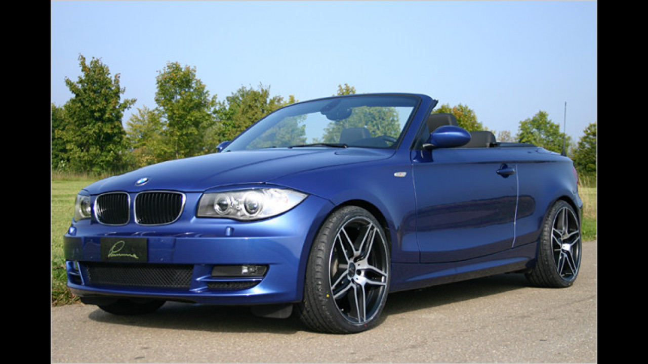 Böses BMW 1er Cabrio