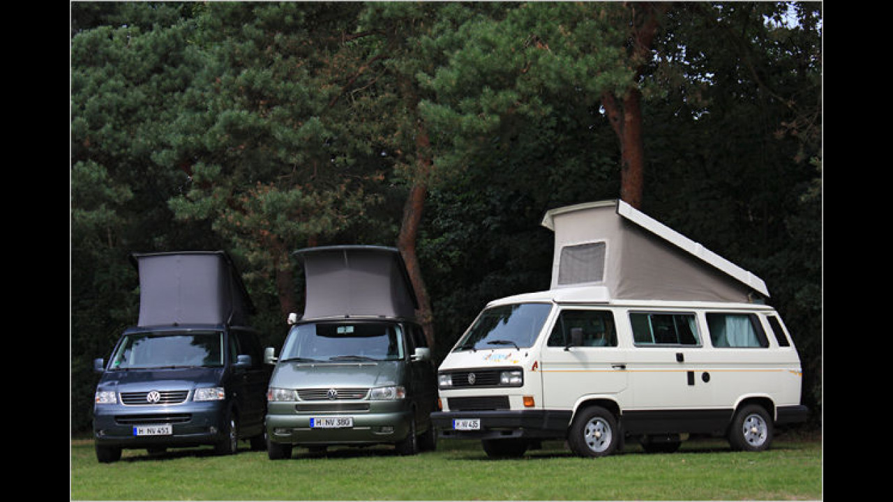 20 Jahre VW California