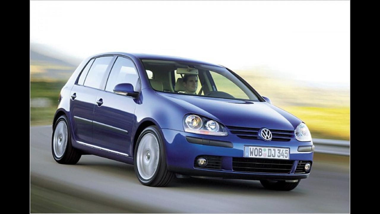 4. Platz: VW Golf 1.4 Comfortline