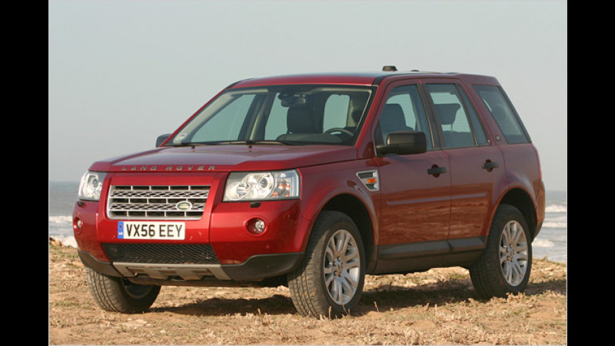 Land Rover Freelander: Billiger und Prämie obendrauf