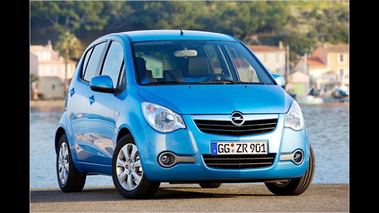 Opel: Die häufigste Farbe ist Silber