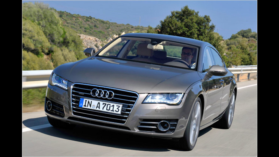 Kurztest: Audi A7 Sportback 3.0 TFSI quattro
